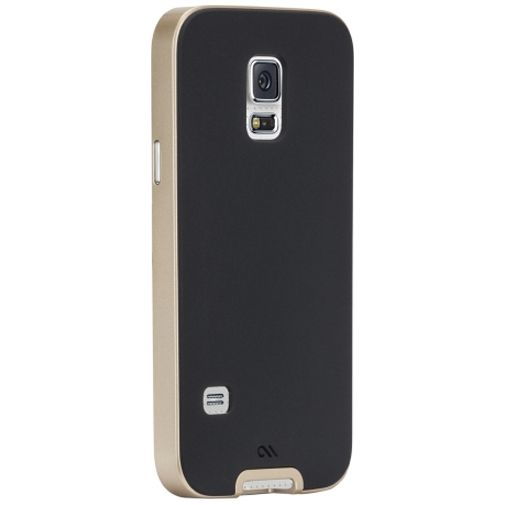 Case-Mate Slim Tough Case Black/Gold Samsung Galaxy S5 Mini