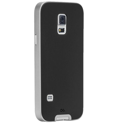 Case-Mate Slim Tough Case Black/Silver Samsung Galaxy S5 Mini