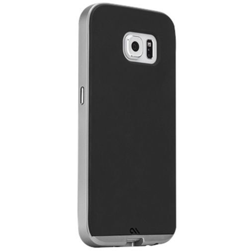 Case Mate Slim Tough Case Black/Silver Samsung Galaxy S6