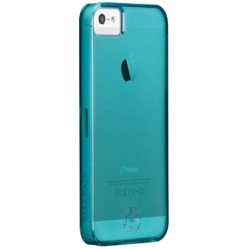 Productafbeelding van de Case-Mate rPet Case Blue Apple iPhone 5/5S