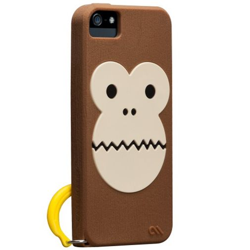 Productafbeelding van de Case-mate Creatures Bubbles Apple iPhone 5/5S Brown