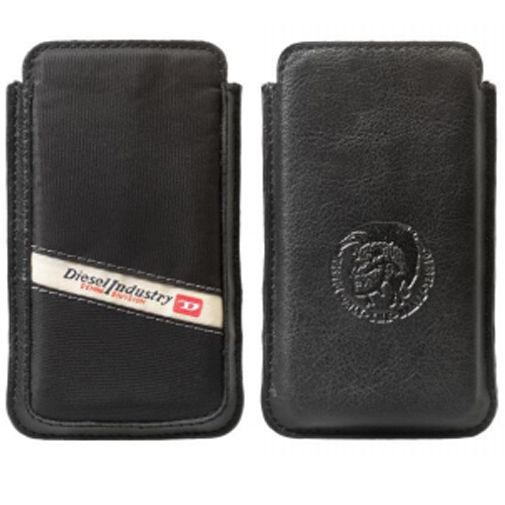 Diesel New Hastings Case Nylon iPhone 5 Zwart