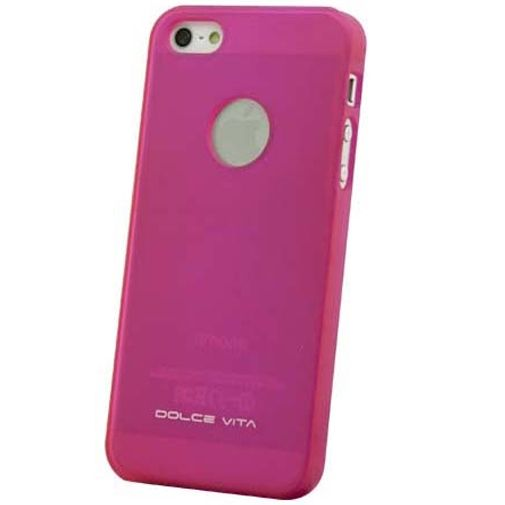 Dolce Vita Backcover Apple iPhone 5/5S/SE Pink