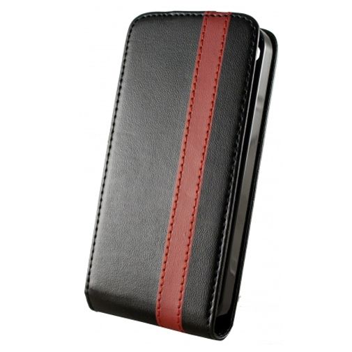 Dolce Vita Flip Case Black Red Apple iPhone 4/4s