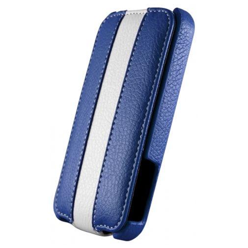 Dolce Vita Flip Case Blue White Samsung Galaxy SII