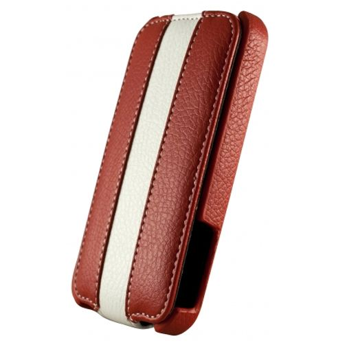 Dolce Vita Flip Case Red White Apple iPhone 4/4s