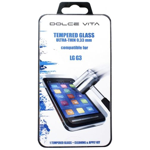 Productafbeelding van de Dolce Vita Tempered Glass Screenprotector LG G3