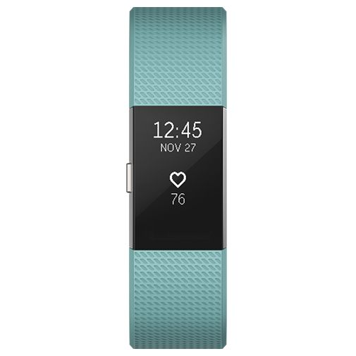 Productafbeelding van de Fitbit Charge 2 Green/Silver Large