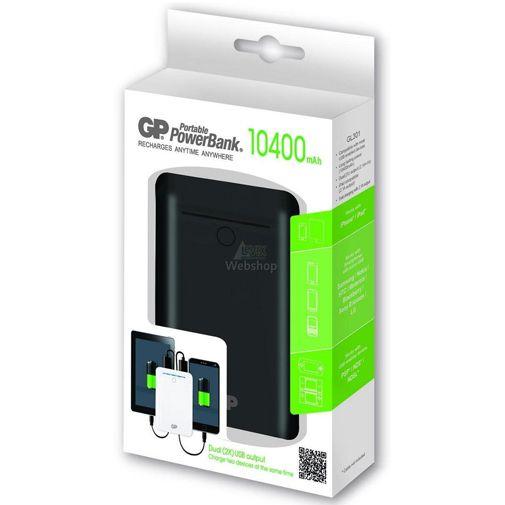 GP Portable PowerBank 10400 mAh Black