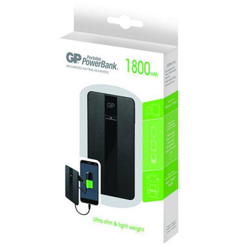 GP Portable PowerBank 1800 mAh Black