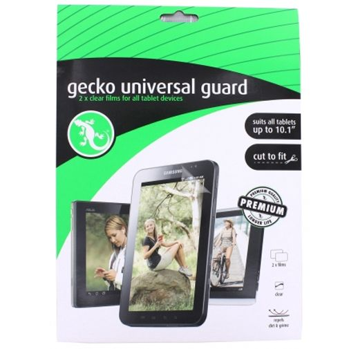 Gecko Universele Tablet Screenprotector