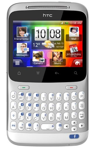 Productafbeelding HTC ChaCha White