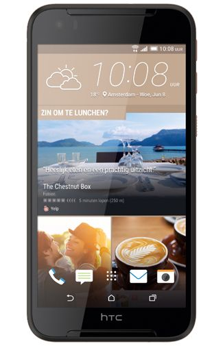 HTC Desire 830 Black Gold