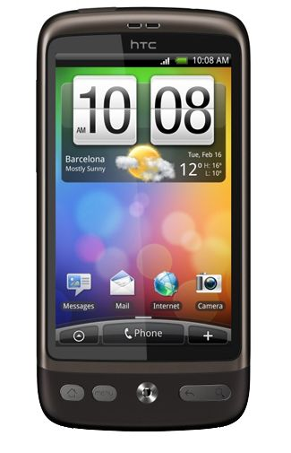HTC Desire Brown