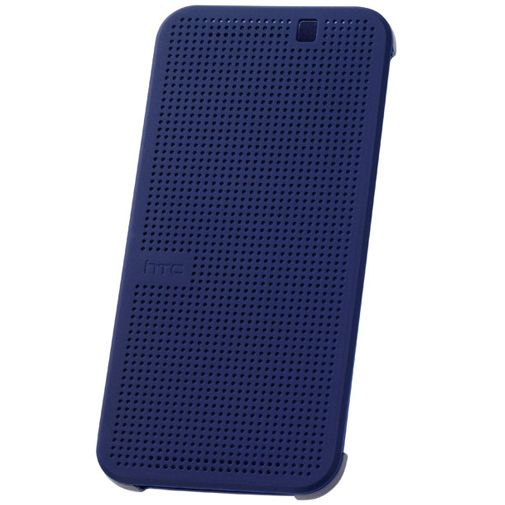 HTC Dot View Case I Dark Blue One M9 (Prime Camera Edition)