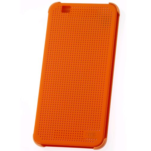 HTC Dot View Case Orange Desire Eye