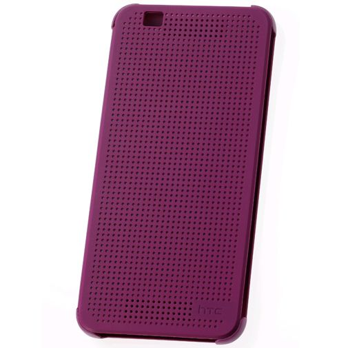 HTC Dot View Case Purple Desire Eye