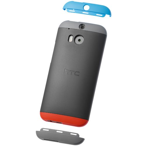 HTC Double Dip Hard Shell Grey HTC One M8