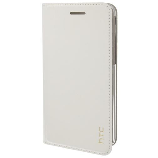 HTC Leather Flip Cover White U Play