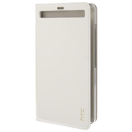 HTC Leather Flip Cover White U Ultra