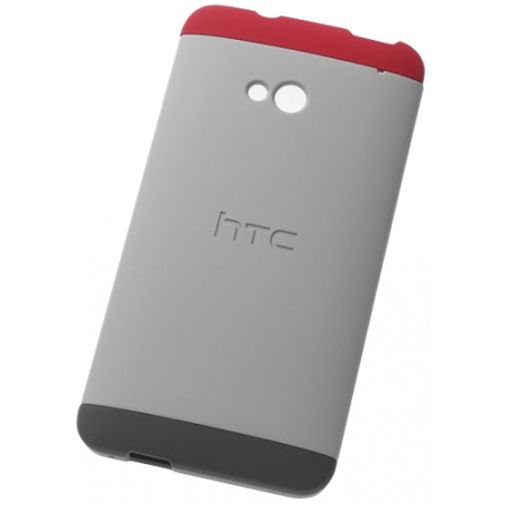 HTC One Double Dip Hardshell Grey/Red