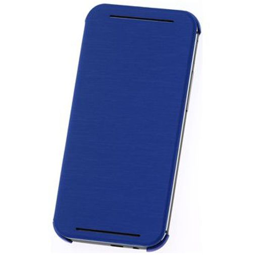 HTC One M8 Flip Case Blue