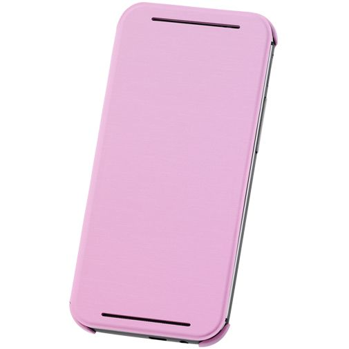 HTC One M8 Flip Case Pink