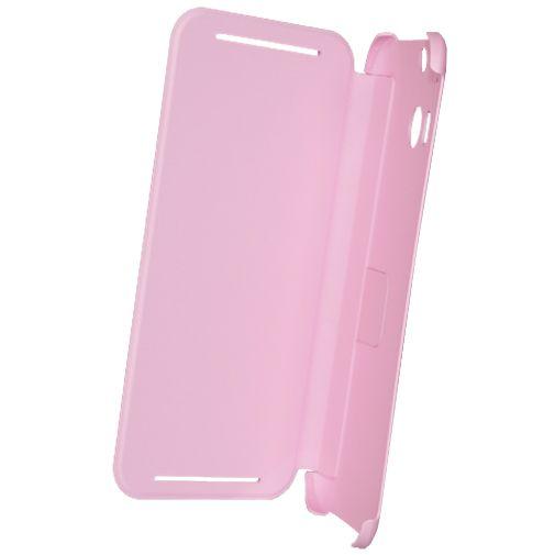 HTC One M8 Flip Case Pink