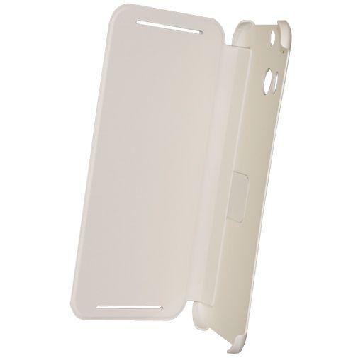 HTC One M8 Flip Case White