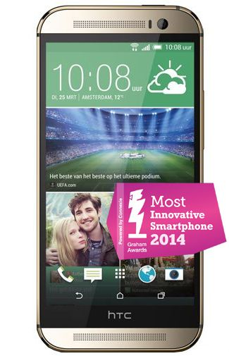 Productafbeelding HTC One M8 Gold