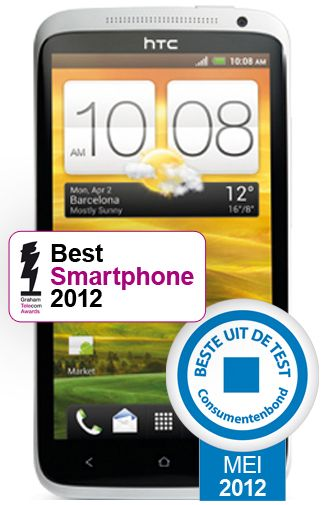 Productafbeelding HTC One X White