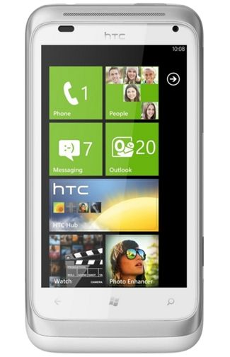 Productafbeelding HTC Radar Silver White