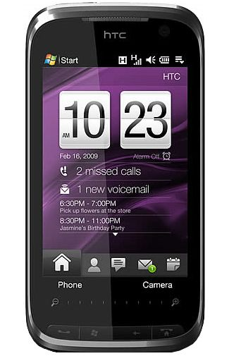 Productafbeelding HTC Touch Pro II Engels