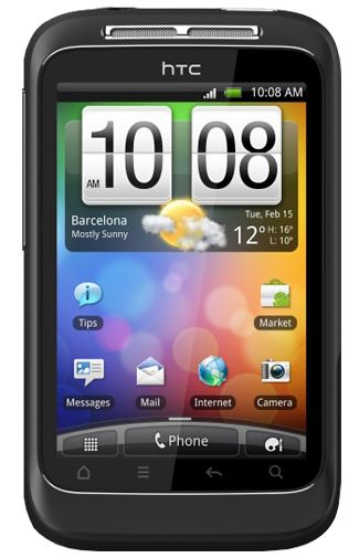 Productafbeelding HTC Wildfire S Black