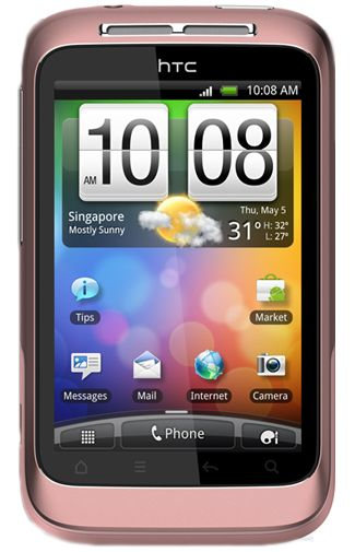 Productafbeelding HTC Wildfire S Pink