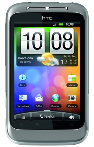 Productafbeelding HTC Wildfire S White