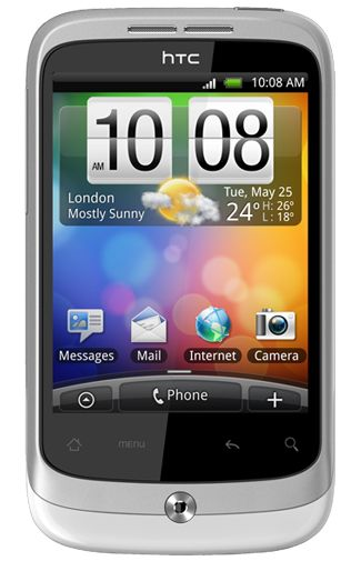 Productafbeelding HTC Wildfire White