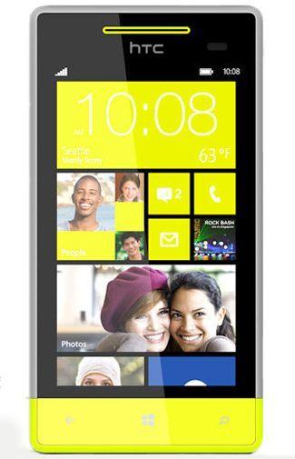 HTC Windows Phone 8S Yellow