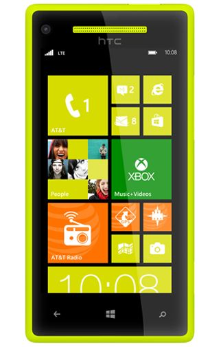Productafbeelding HTC Windows Phone 8X Limelight Yellow
