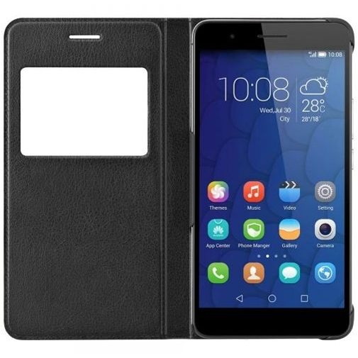 Honor View Flip Case Black Honor 6+
