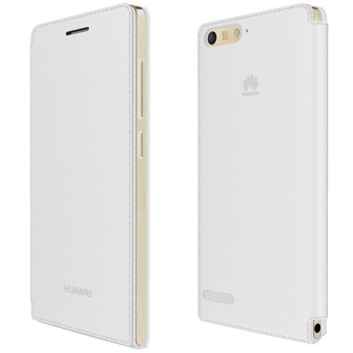 Huawei Ascend G6 4G Flip Case White