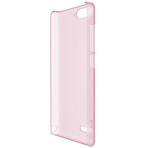 Huawei Ascend G6 4G TPU Case Pink