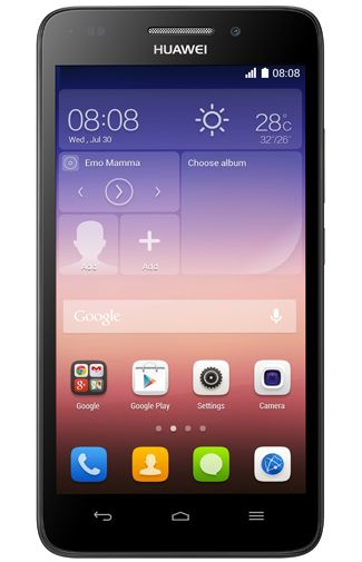 Productafbeelding Huawei Ascend G620S Black