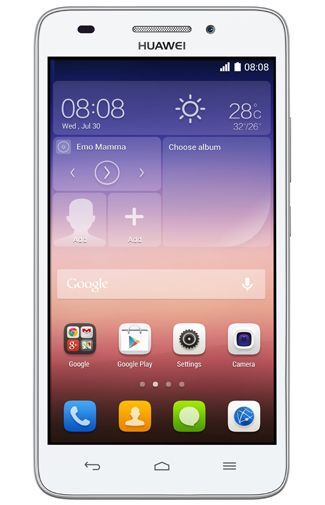 Productafbeelding Huawei Ascend G620S White