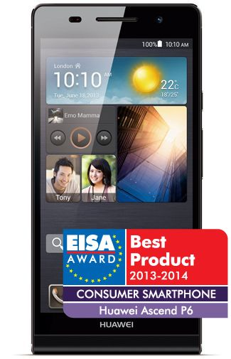 Productafbeelding Huawei Ascend P6 Black
