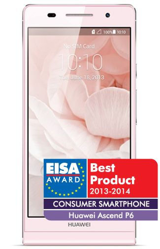 Productafbeelding Huawei Ascend P6 Pink