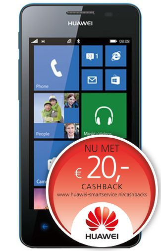 Productafbeelding Huawei Ascend W2 Blue