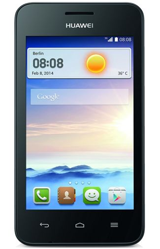Productafbeelding Huawei Ascend Y330 Dual Sim Black