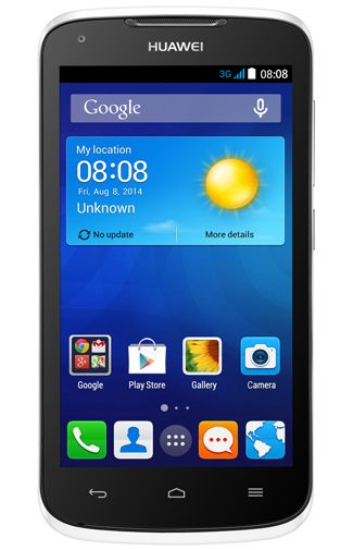 Productafbeelding Huawei Ascend Y540 Dual Sim White