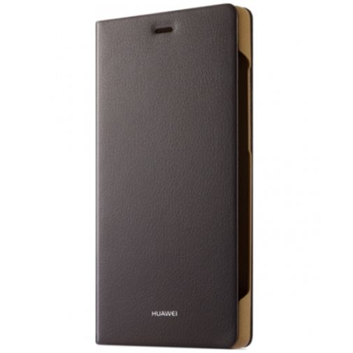 Huawei Flip Cover Brown Huawei P8 Lite